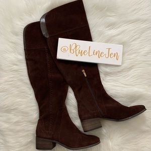 Chocolate Brown Kreston Over The Knee Boots NWOT